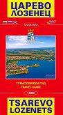 Карта на Царево, Лозенец, Ахтопол и Синеморец : Map of Tsarevo, Lozenets, Ahtopol and Sinemorets - М 1:9000 -