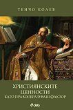 Християнските ценности като правообразуващ фактор - Тенчо Колев -