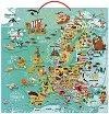 Магнитен пъзел - Европа - Оливер Хюет (Oliver Huette) -