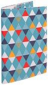 Текстилна подвързия за книга - Ромбове -