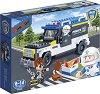 """Полицейски хамър - Детски конструктор с pull-back механизъм от серията """"BanBao Police"""" -"""