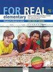 For Real - A2: Учебник по английски език за 8. клас + CD-ROM - учебна тетрадка