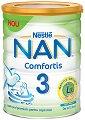 Висококачествена обогатена млечна напитка за малки деца - Nestle NAN Comfortis 3 - Метална кутия от 800 g за след 12 месеца -