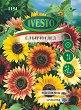 """Семена от Слънчоглед Есенна красавица - микс от цветове - От серия """"Ивесто"""" -"""