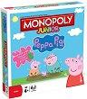 Монополи Джуниър - Пепа Пиг - Детска бизнес игра -