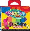 Пластилин в неонов цвят - Комплект от 6 цвята -