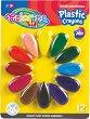 Пастели - Plastic crayons - Комплект от 12 цвята -
