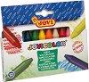 Маслени пастели - Jovi Color - Комплект от 12 цвята -