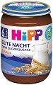 """HIPP - Био млечна каша """"Лека нощ"""" със 7 зърна - Бурканче от 190 g за бебета над 6 месеца -"""