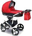 Бебешка количка 2 в 1 - Carera New - С 4 колела -