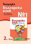 Учебна тетрадка № 1 по български език за 2. клас - Нели Иванова, Румяна Нешкова -