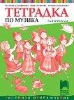 Тетрадка по музика за 2. клас - Галунка Калоферова, Вяра Сотирова, Росица Драганова -