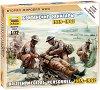 Британски медици от Втората световна война - Комплект от 4 сглобяеми фигури -