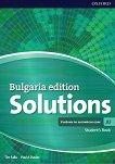 Solutions - част A1: Учебник по английски език за 8. клас за интензивно обучение Bulgaria Edition - продукт