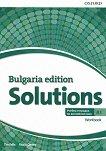 Solutions - част A1: Учебна тетрадка по английски език за 8. клас за интензивно обучение Bulgaria Edition - учебник