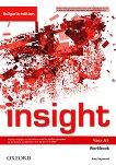 Insight - част A1: Учебна тетрадка по английски език за 8. клас за интензивно обучение Bulgaria Edition -