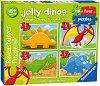 Моят първи пъзел: Весели динозаври -