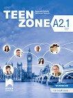 Teen Zone - ниво A2.1: Работна тетрадка по английски език за 9. клас - учебна тетрадка