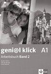 geni@l klick - ниво A1: Учебна тетрадка № 2 по немски език за 8. клас + CD - книга за учителя