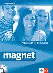 Magnet - ниво A1 - A2: Учебна тетрадка по немски език за 6. клас + CD - Giorgio Motta -