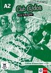 Club @dos Pour la Bulgarie - ниво A2: Учебна тетрадка по френски език за 8. клас + CD - Aurelie Combriat, Katia Coppola, Vyara Lyubenova, Lyudmila Galabova -