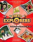 First Explorers: Учебник по английски език за 2. клас - Charlotte Covill, Mary Charrington, Paul Shipton - помагало