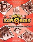 First Explorers: Учебна тетрадка по английски език за 2. клас - Charlotte Covill, Mary Charrington, Paul Shipton -