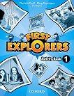 First Explorers - ниво 1: Учебна тетрадка по английски език - Charlotte Covill, Mary Charrington, Paul Shipton -