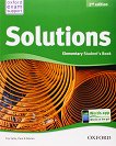 Solutions - Elementary: Учебник по английски език Second Edition - книга за учителя