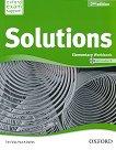 Solutions - Elementary: Учебна тетрадка по английски език + CD Second Edition - продукт