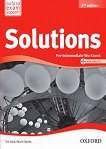 Solutions - Pre-Intermediate: Учебна тетрадка по английски език + CD : Second Edition - Tim Falla, Paul A. Davies - книга