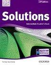 Solutions - Intermediate: Учебник по английски език Second Edition - учебник