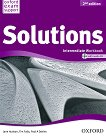 Solutions - Intermediate: Учебна тетрадка по английски език + CD : Second Edition - Jane Hudson, Tim Falla, Paul A. Davies - учебник