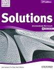 Solutions - Intermediate: Учебна тетрадка по английски език + CD Second Edition - продукт