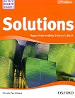 Solutions - Upper-Intermediate: Учебник по английски език : Second Edition - Tim Falla, Paul A. Davies - книга