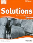 Solutions - Upper-Intermediate: Учебна тетрадка по английски език + CD : Second Edition - Tim Falla, Paul A. Davies -