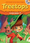 Treetops - ниво 1: Учебник и учебна тетрадка по английски език + CD - Sarah Howell, Lisa Kester-Dodgson -