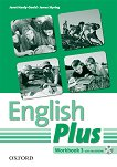 English Plus - ниво 3: Учебна тетрадка по английски език + CD-ROM - Janet Hardy-Gould, James Styring -