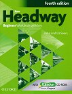 New Headway - Beginner (A1): Учебна тетрадка по английски език + iChecker CD-ROM : Fourth Edition - John Soars, Liz Soars - учебник