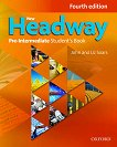New Headway - Pre-Intermediate (A2 - B1): Учебник по английски език + iTutor DVD-ROM : Fourth Edition - John Soars, Liz Soars - книга
