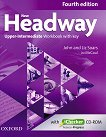 New Headway - Upper-Intermediate (B2): Учебна тетрадка по английски език + iChecker CD-ROM : Fourth Edition - John Soars, Liz Soars, Jo McCaul -