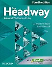 New Headway - Advanced (C1): Учебна тетрадка по английски език + iChecker CD-ROM : Fourth Edition - John Soars, Liz Soars, Paul Hancock - учебник