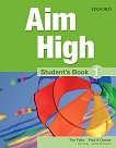 Aim High - ниво 1: Учебник по английски език - продукт