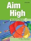 Aim High - ниво 1: Учебник по английски език - учебник