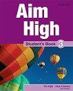 Aim High - ниво 3: Учебник по английски език - Tim Falla, Paul A. Davies, Jane Hudson -