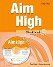 Aim High - ниво 4: Учебна тетрадка по английски език - Paul Kelly, Susan Iannuzzi -