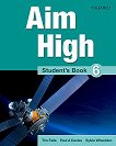 Aim High - ниво 6: Учебник по английски език - Tim Falla, Paul A. Davies, Sylvia Wheeldon -