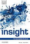 Insight - Pre-Intermediate: Учебна тетрадка по английски език - Mike Sayer, Rachael Roberts -