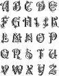 Силиконови печати - Латинска азбука - Размер 14 х 18 cm -