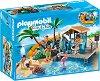 """Карибски остров с пързалка и плажен бар - Детски конструктор от серията """"Family Fun"""" -"""